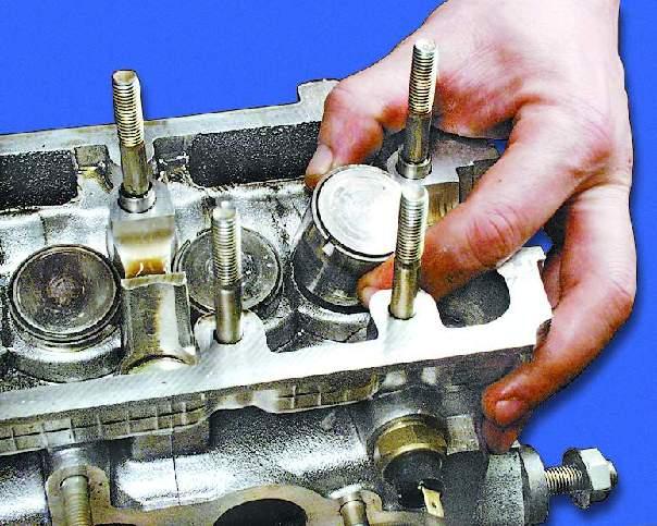 Ваз 21099 ремонт головки